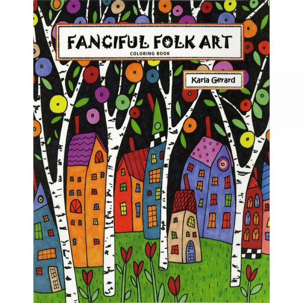 Taunton Press: Fanciful Folk Art Coloring Book