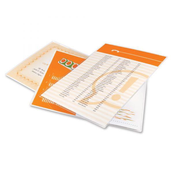 GBC HeatSeal Letter Size Laminating Pouches