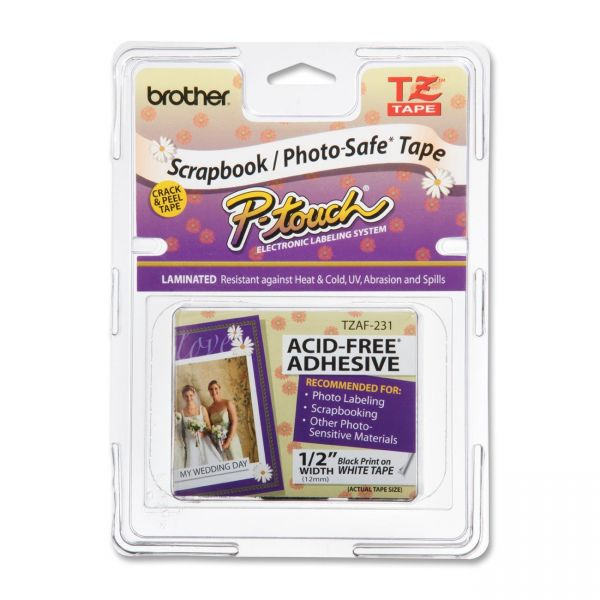 Brother P-Touch TZ Scrapbook Label Tape Cartridge