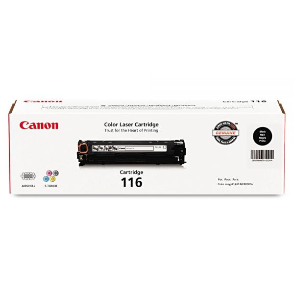 Canon 116 Black Toner Cartridge (1980B001)