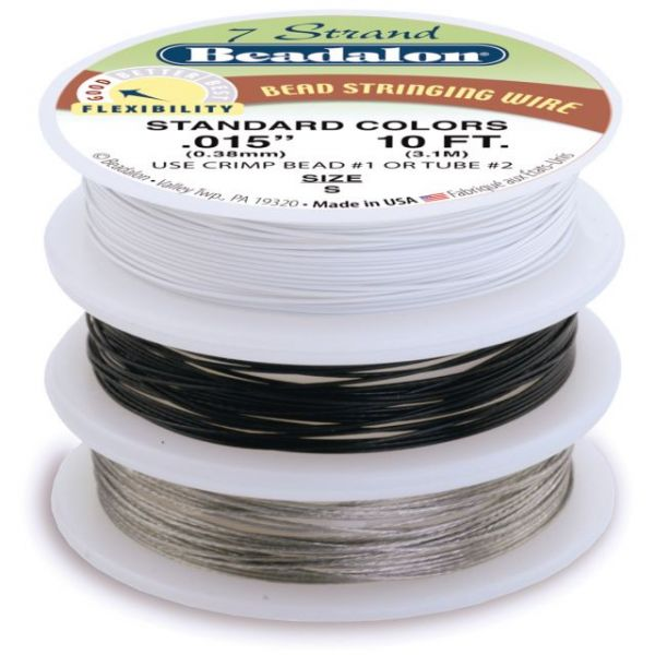 "Stringing Wire 7-Strand .015""X10' 3/Pkg"