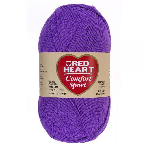 Red Heart Comfort Sport Yarn - Amethyst