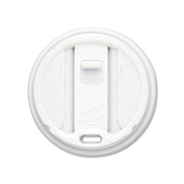 Dixie Smart Top Reclosable Coffee Cup Lids
