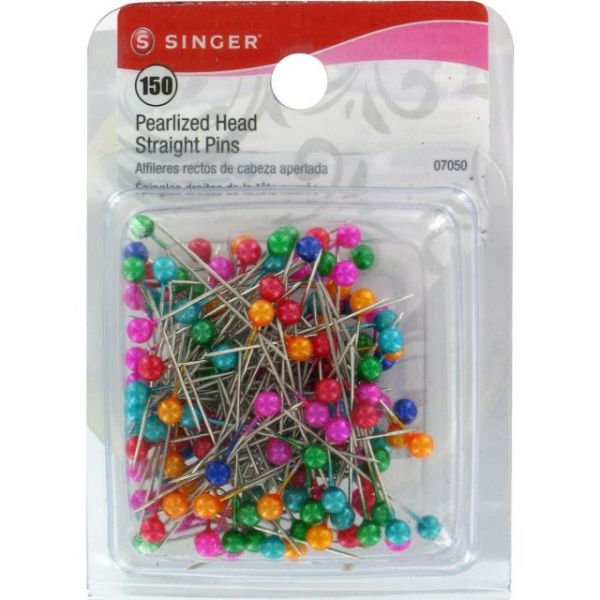 Pearlized Straight Pins