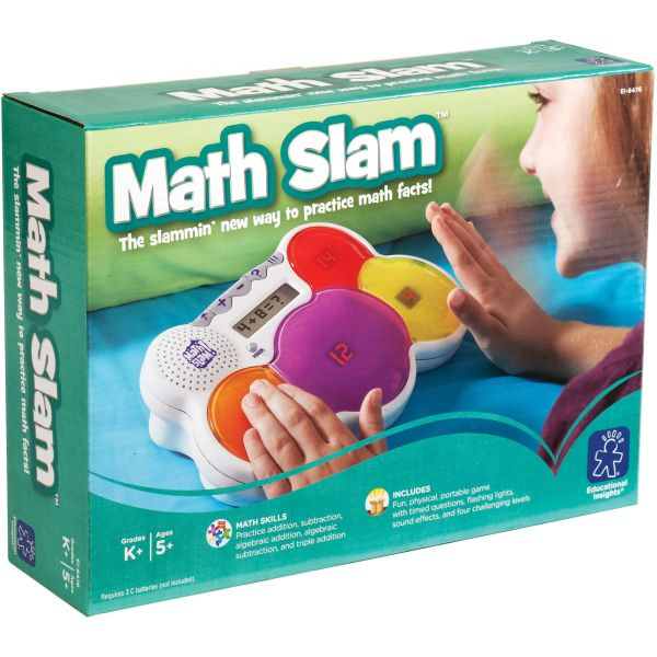 Educational Insights Math Slam Electronic Game