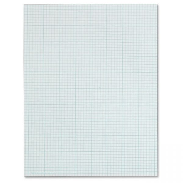 TOPS 10x10 Grid White Cross Section Pad