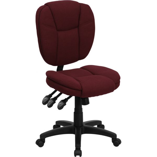 Flash Furniture Mid-Back Multi-Functional Ergonomic Task Chair