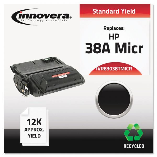 Innovera Remanufactured HP 38A (Q1338A) Micr Toner Cartridge