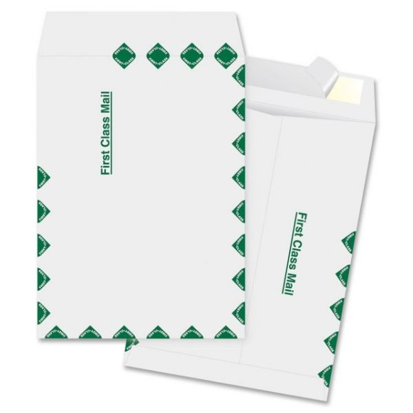 "Business Source 9"" x 12"" First Class Tyvek Envelopes"