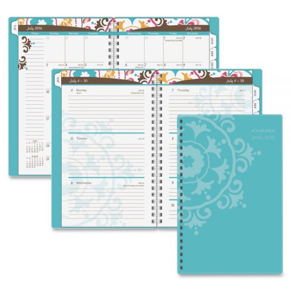 At-A-Glance Suzani Weekly/Monthly Student Planner