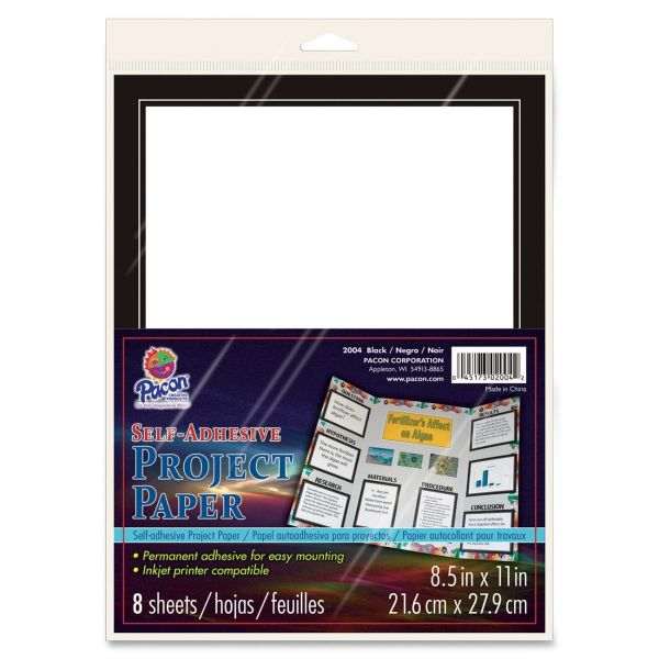 Pacon Self-Adhesive Project Paper
