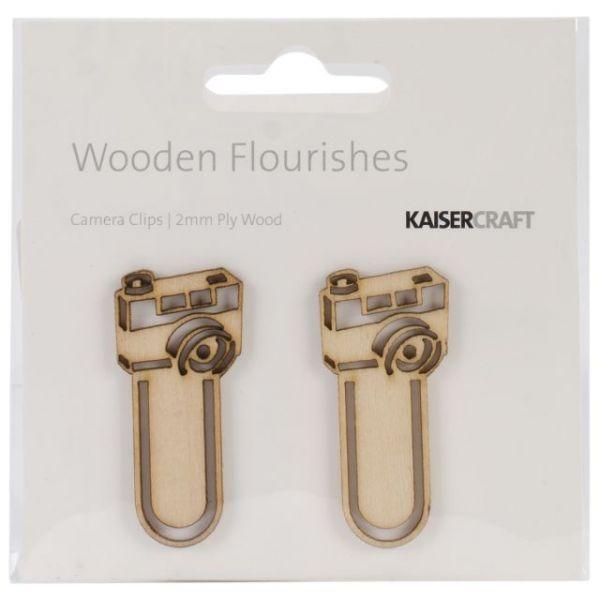Wood Flourishes 2/Pkg