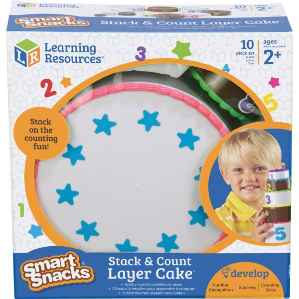 Smart Snacks Stack Count Cake