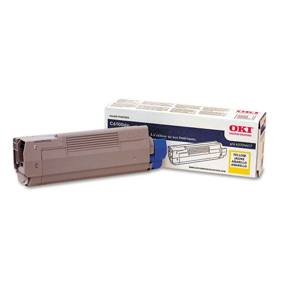 Oki 43324417 Yellow Toner Cartridge