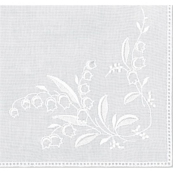 "Cotton Handkerchief 9.5""X9.5"""