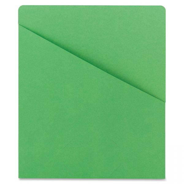 Smead 75432 Green Slash Jackets