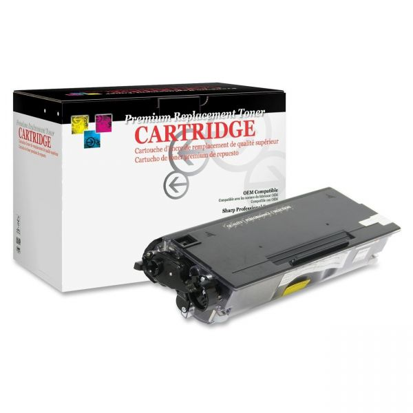 West Point Products Remanufactured Brother TN620 Black Toner Cartridge