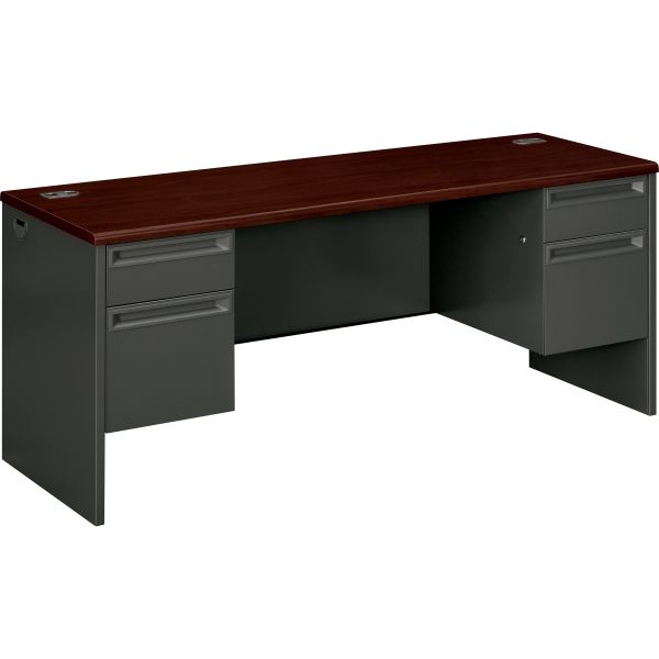 HON 38000 Series Double Pedestal Computer Desk