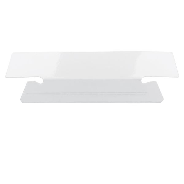 Smead Erasable Hanging Folder Tabs, 1/3 Tab, 3 1/2 Inch, White, 25/PK