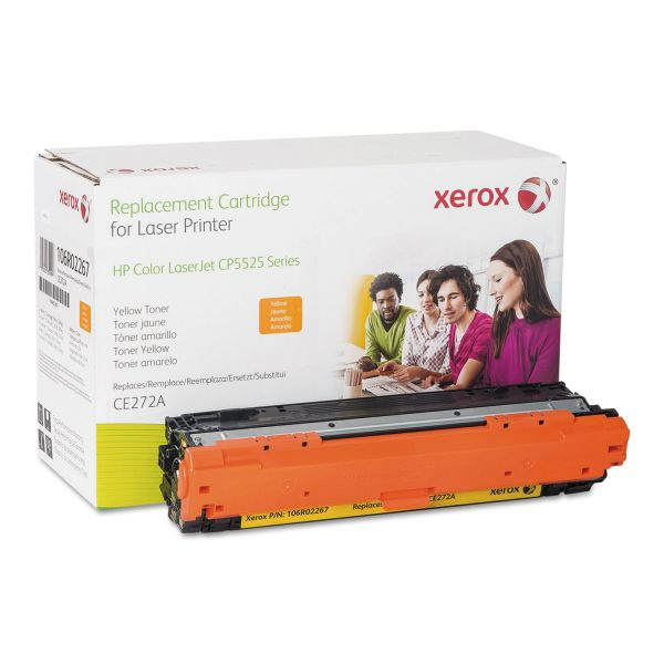 Xerox Remanufactured HP CE272A Toner Cartridge