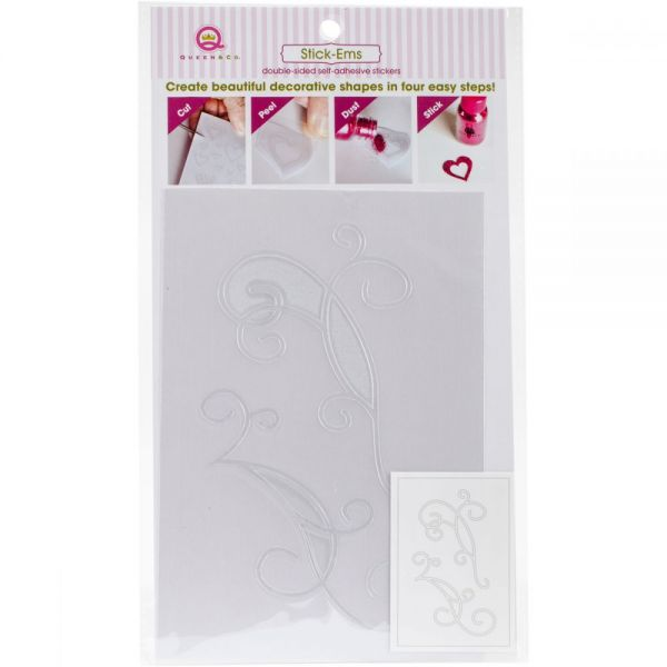 Stick-Ems Clear Double-Sided Stickers