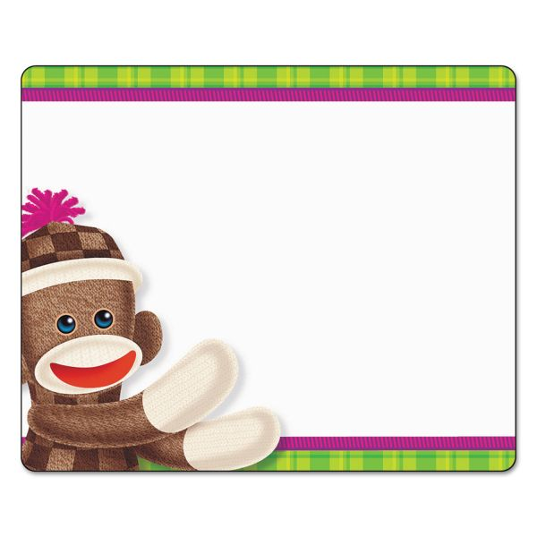 Trend Sock Monkeys Terrific Labels