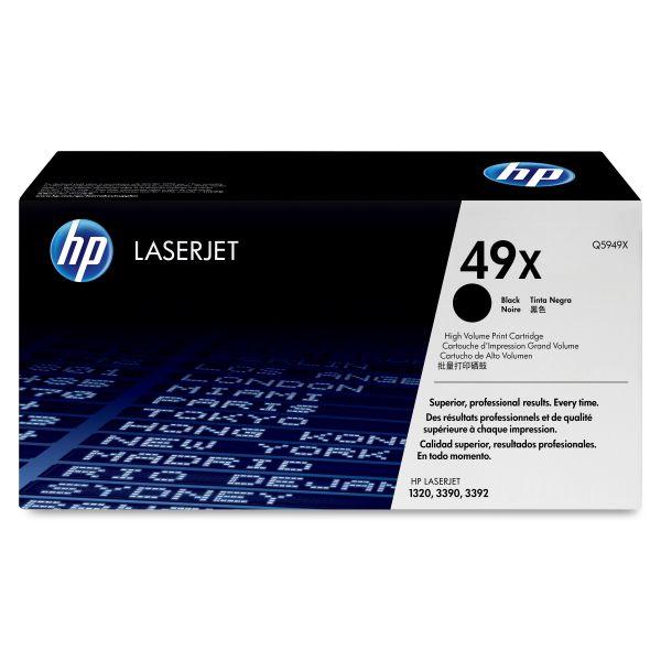 HP 49X Black High Yield Toner Cartridge (Q5949X)