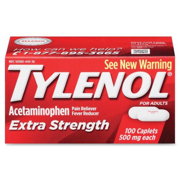 Johnson&Johnson Tylenol Extra Strength Caplets