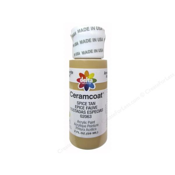 Ceramcoat Spice Tan Acrylic Paint