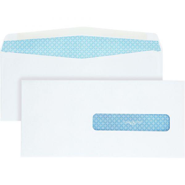Quality Park Health Form Gummed Security Envelope, #10 1/2, 4 1/2 x 9 1/2, White, 500/Box
