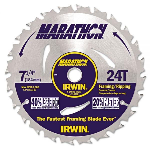 Irwin Tools Marathon Circular Saw Blade