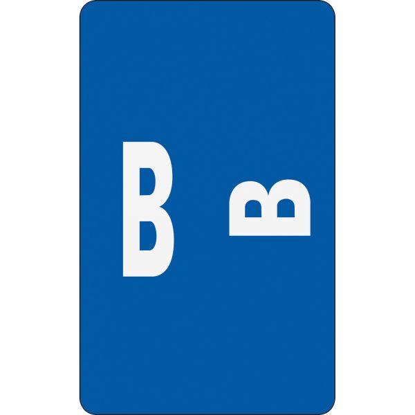Smead AlphaZ ACCS Color-Coded Alphabetic Label - B
