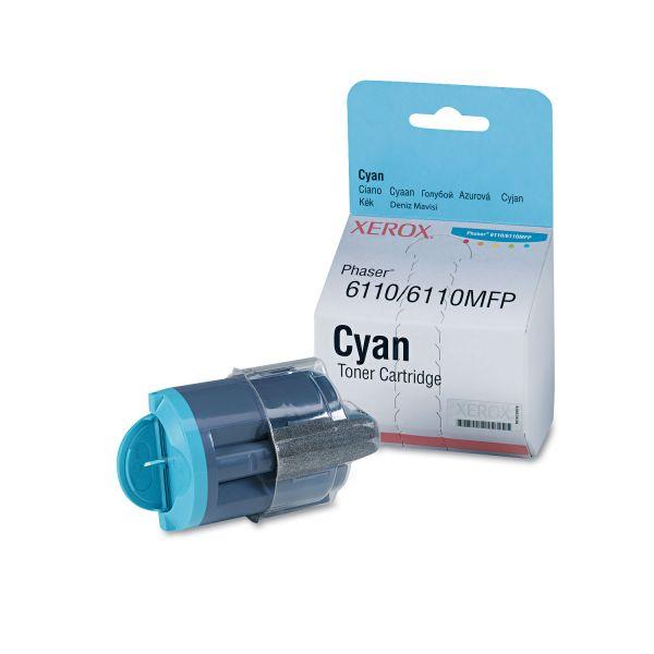 Xerox 106R01271 Toner Cartridge, 1000 Page-Yield, Cyan