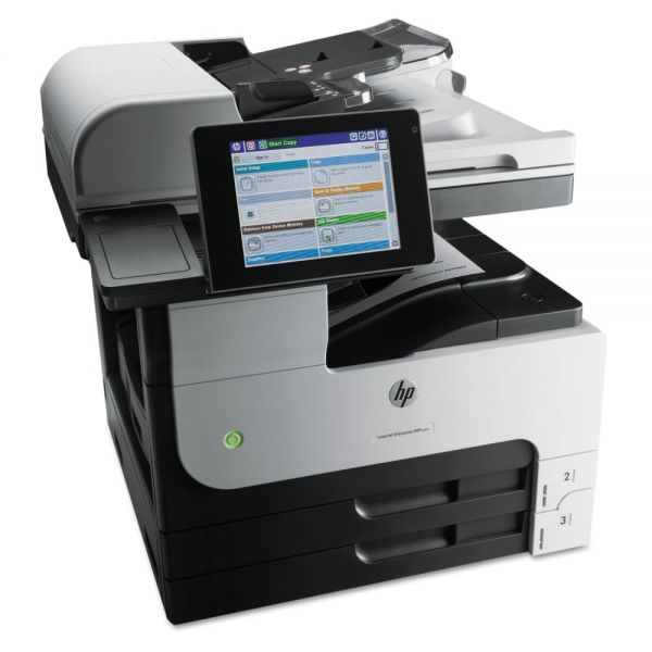 HP LaserJet Enterprise MFP M725dn Multifunction Laser Printer, Copy/Print/Scan