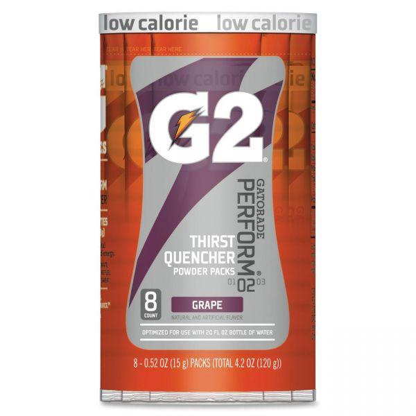 Gatorade G2 Purple Single Serve Powder Packets