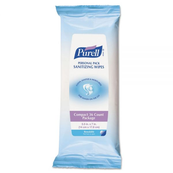 PURELL Premoistened Hand Sanitizing Wipes