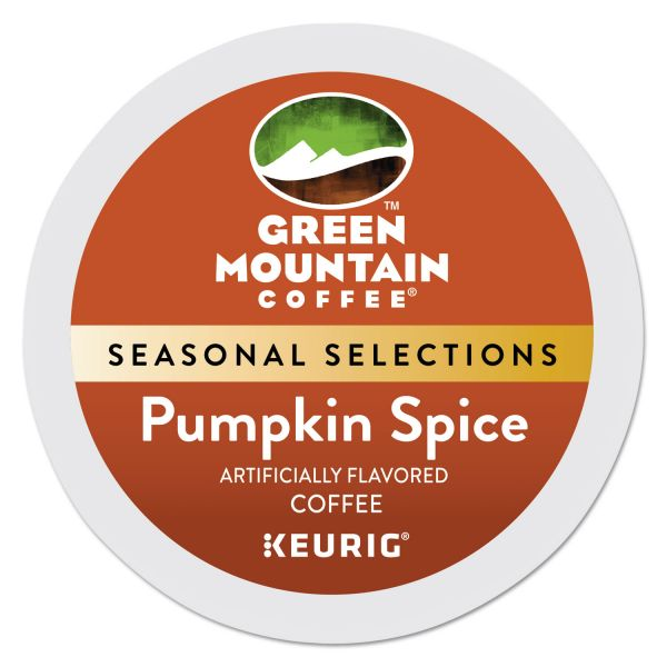 Green Mountain Coffee Pumpkin Spice Flavored Coffee K-Cups