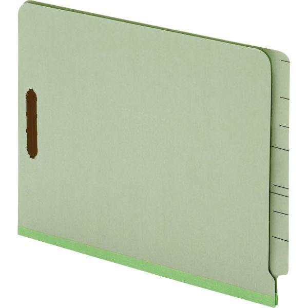 Globe-Weis End Tab Folders