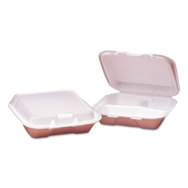 GEN Foam Clamshell Carryout Containers