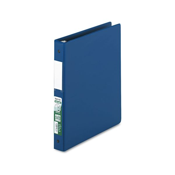 "Samsill Antimicrobial Locking 1"" 3-Ring Binder"