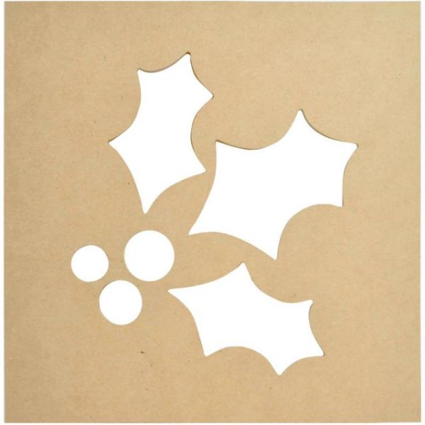 Beyond The Page MDF Holly Silhouette Wall Art Frame
