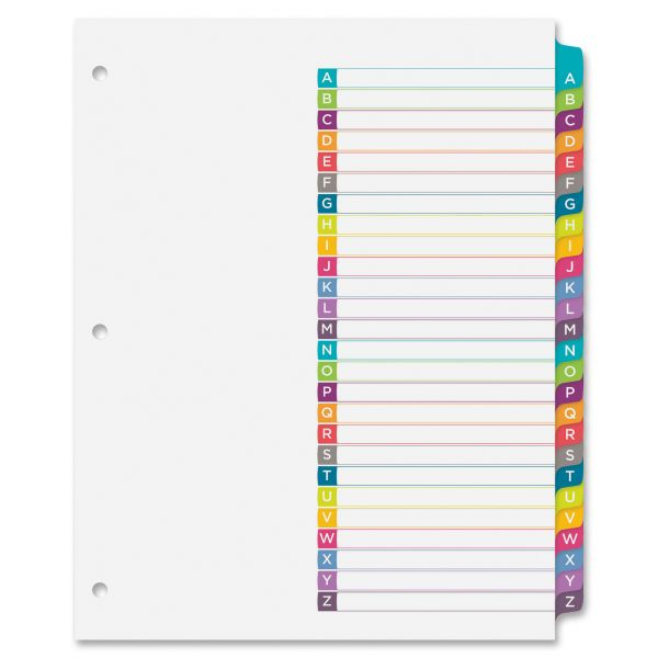 Avery Ready Index Alphabet Dividers