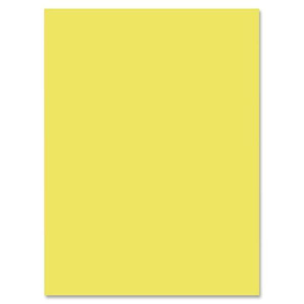 Nature Saver Yellow Construction Paper