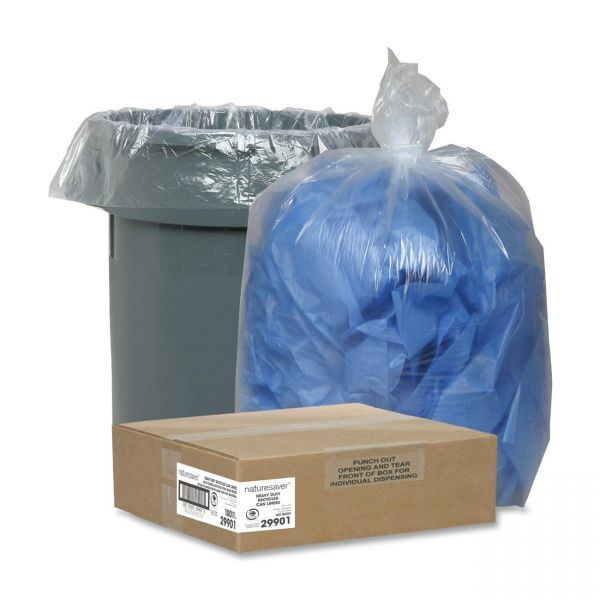 Nature Saver Recycled 45 Gallon Trash Bags