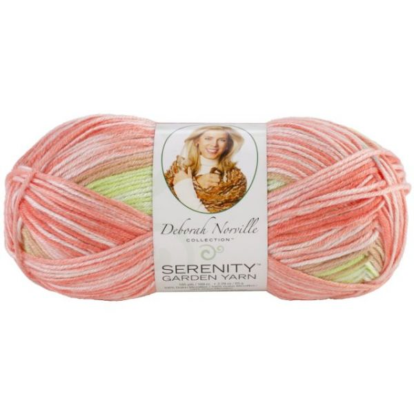 Deborah Norville Collection Serenity Garden Yarn - Orange Tree