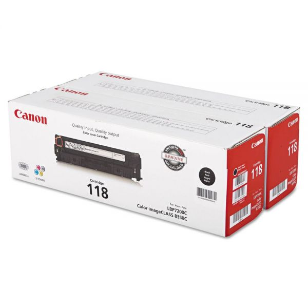 Canon 118 Black Toner Cartridges (2662B004)