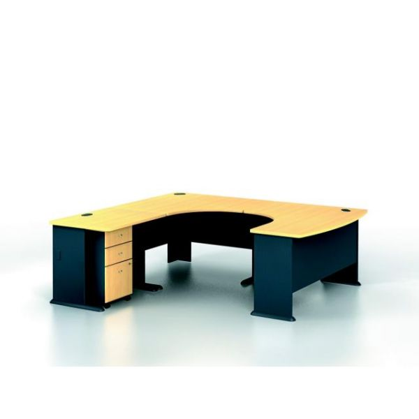 bbf Series A Professional Configuration - Beech finish by Bush Furniture