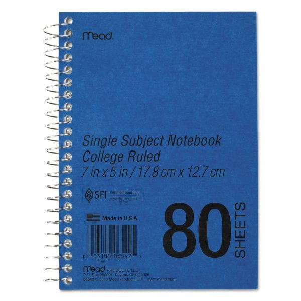 Mead Heavyweight Single Subject Notebook