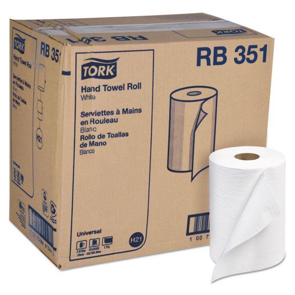 Tork Universal Hardwound Paper Towel Rolls