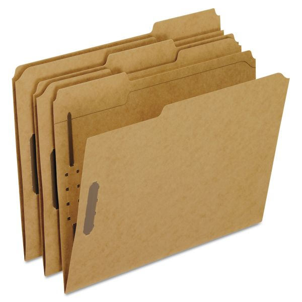 Oxford Kraft Rec File Folders With Fasteners